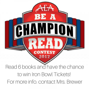 AEA Be a Champion Read Contest Image