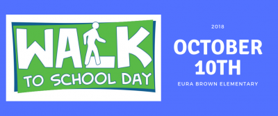 Walk to School Day 2018