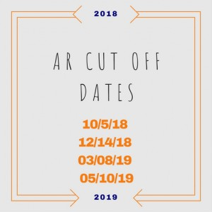 Nine Week Cut off Dates for AR